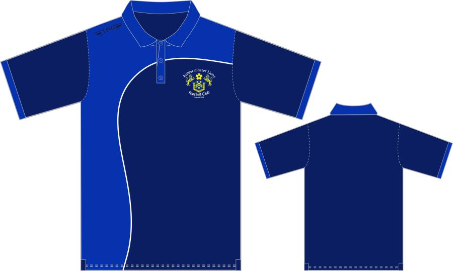 D8L. Kidderminster Lions Cotton Polo - Adult**