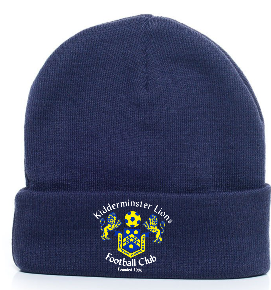 F2H.  Kidderminster Lions Knitted Hat - Adult