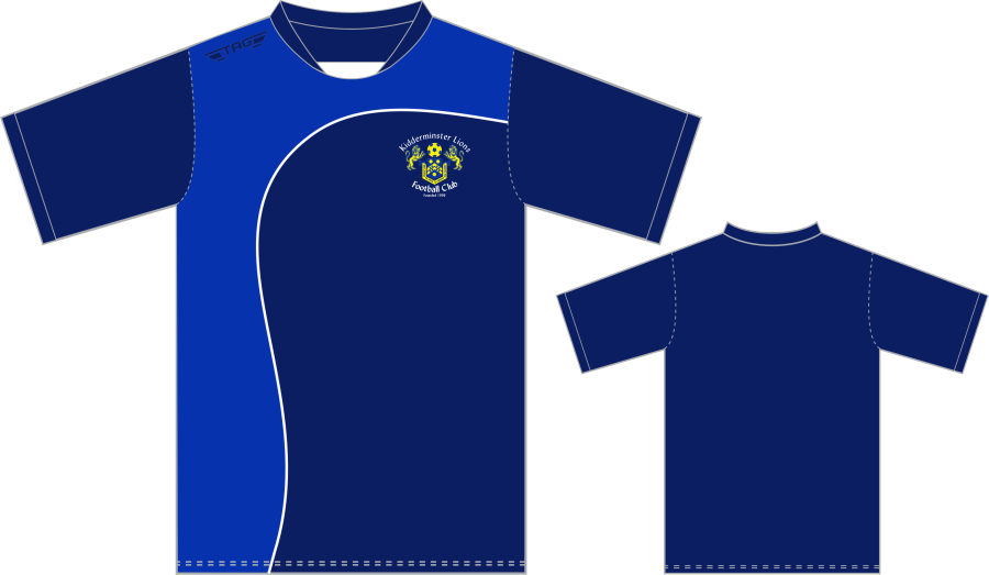 D3D. Kidderminster Lions Managers Training Jersey - Adult