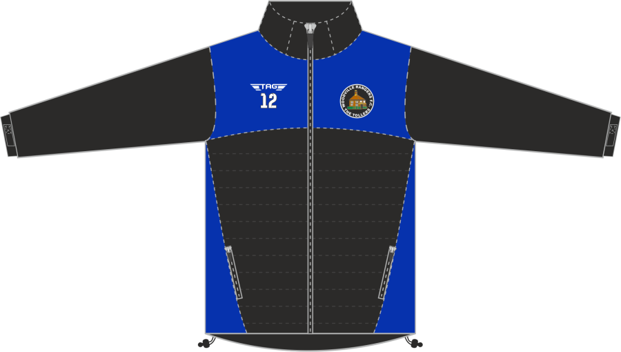 D4K. Woodville Rangers Hybrid Softshell Jacket - Child