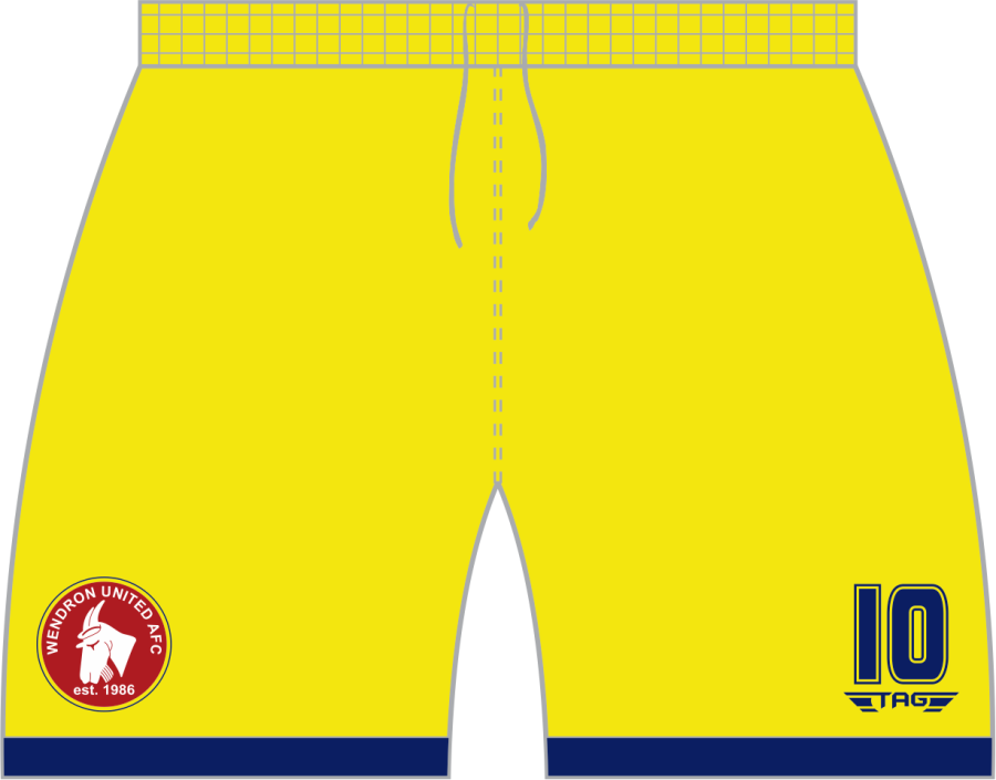 C3H. Wendron Away Match Short - Adult