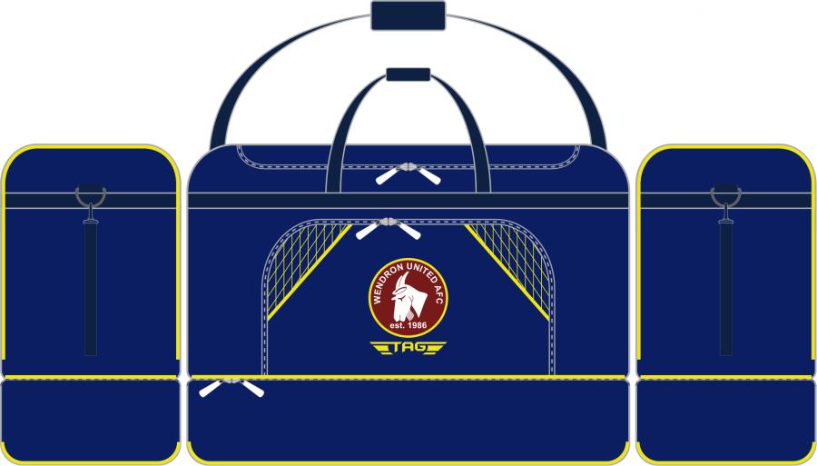 E2E. Wendron Medium Players Kit Bag (min order of 10)**