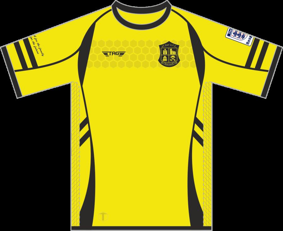 A1B. St. Day AFC Hybrid-Pro Home Match Jersey S/S - Adult