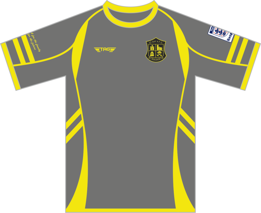 C3C. St. Day AFC Away Match Jersey S/S - Child