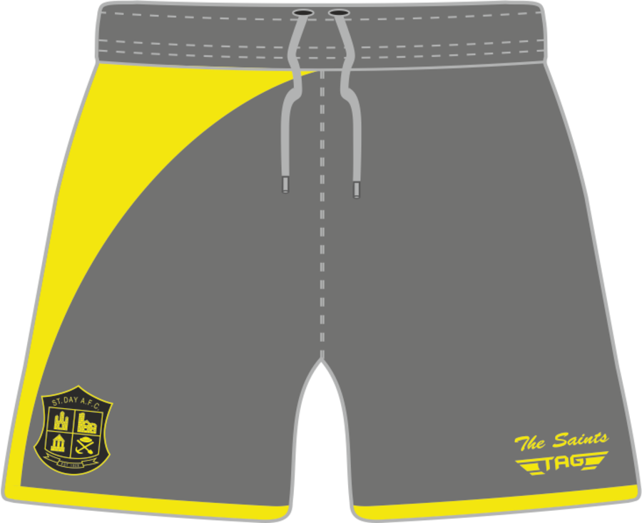 C3H. St. Day AFC Away Match Short - Adult
