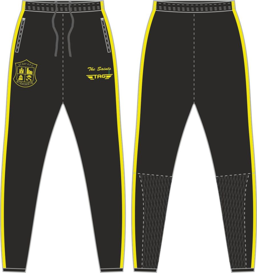 D2D. St. Day AFC Tight Fit Tech Trouser - Adult