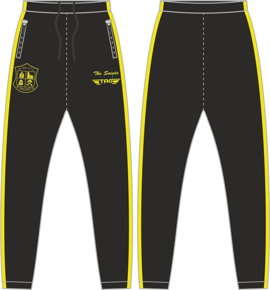 D2F. St. Day AFC Casual Fit Tech Trouser - Adult