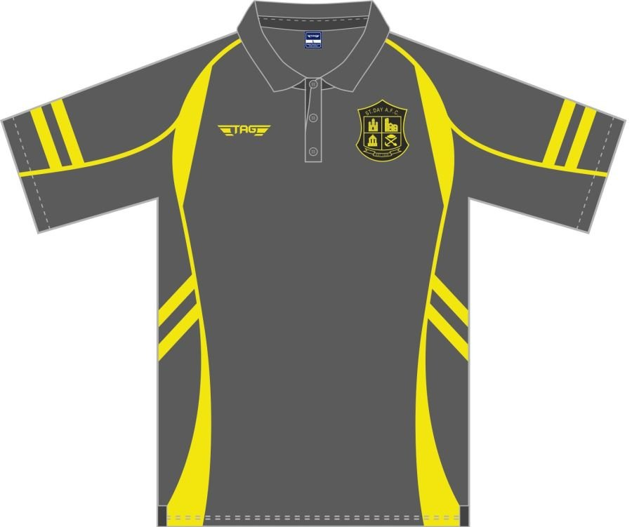 D8D. St. Day AFC Sports Polo - Managers