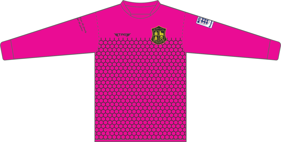 C4D. St. Day AFC Away GK Jersey - Adult