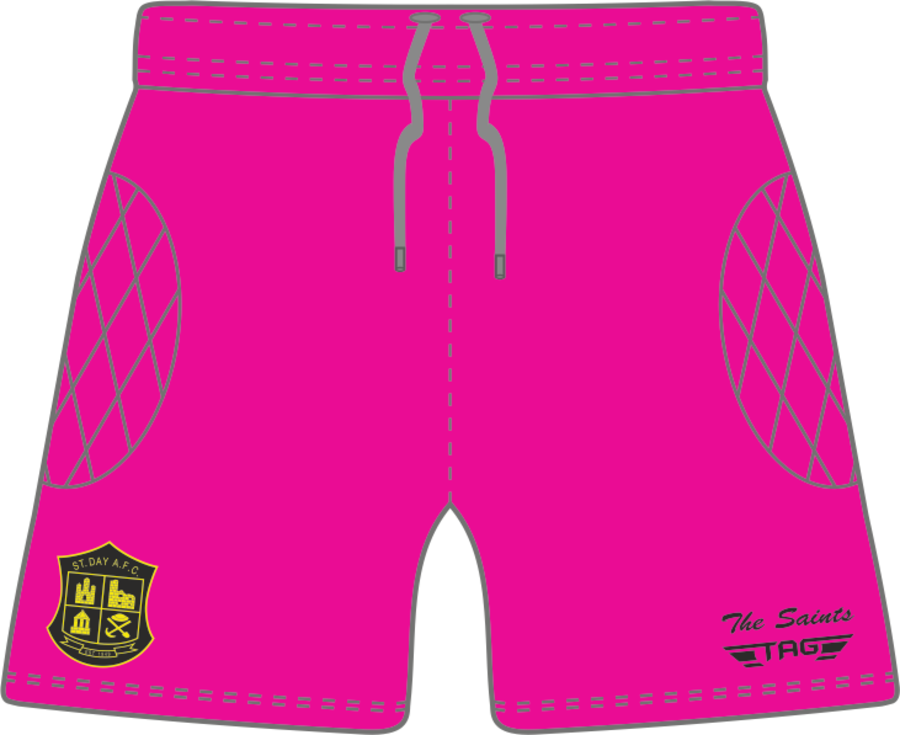 C4Q. St. Day AFC Away GK Short - Child