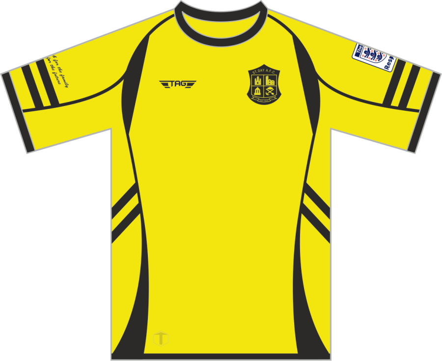 C2D. St. Day AFC SDS Home Match Jersey S/S - Adult