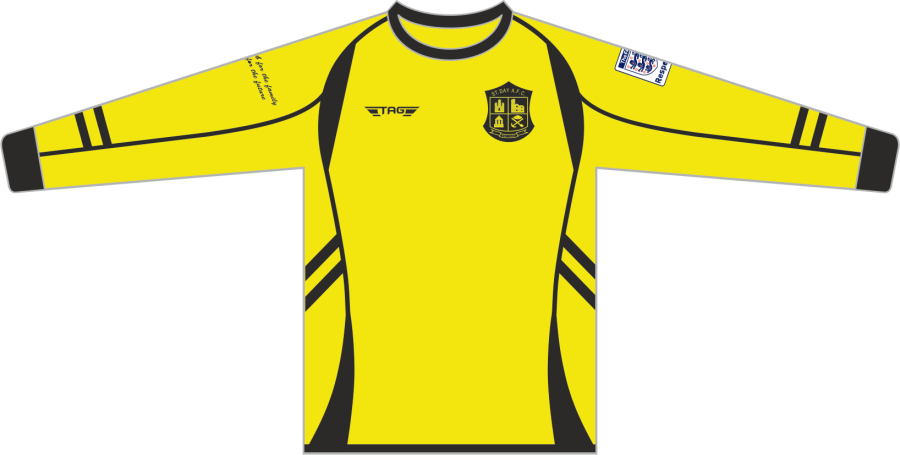 C2E. St. Day AFC SDS Home Match Jersey L/S - Child