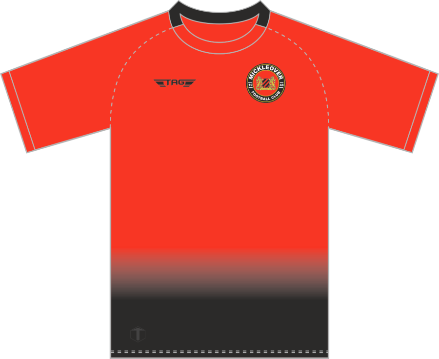 C2D. Mickleover FC Home Match Jersey S/S - Adult