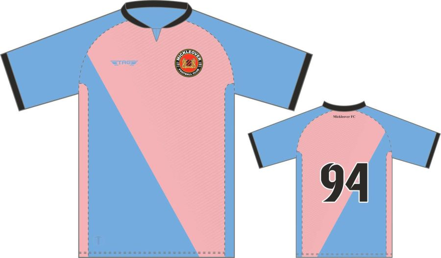 C3C. Mickleover FC Away Match Jersey S/S - Child
