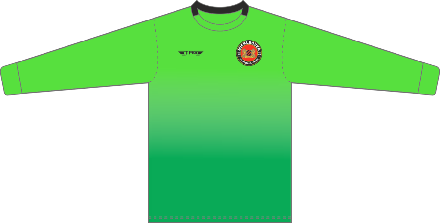 C4C. Mickleover FC Green GK Jersey - Child