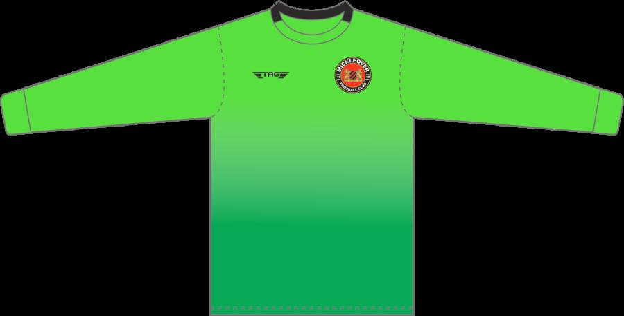 C4C. Mickleover FC Green GK Jersey - Child