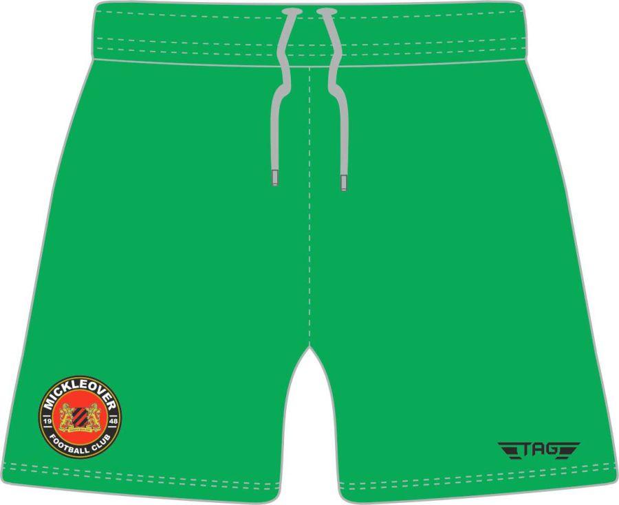 C4P. Mickleover FC Green GK Short - Adult