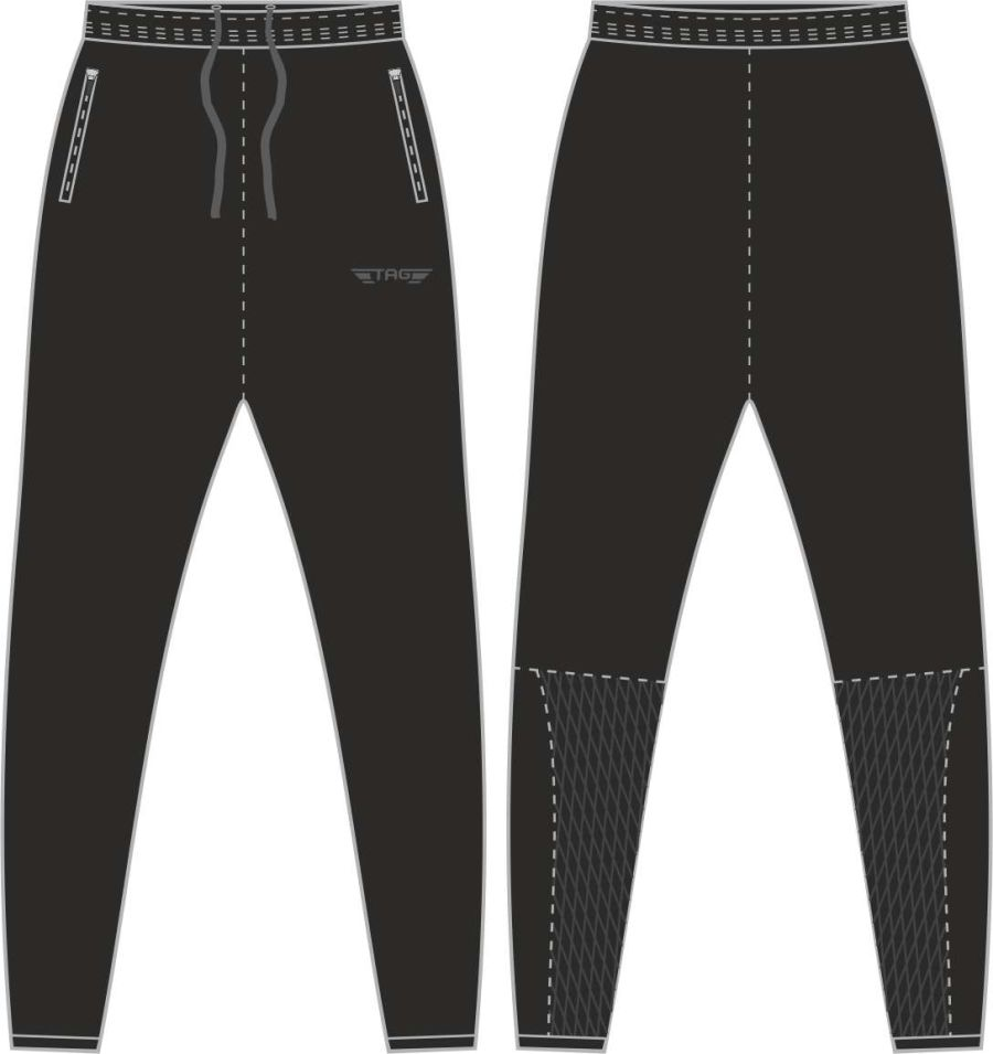 D2D. Mickleover FC Tight Fit Tech Trouser - Adult