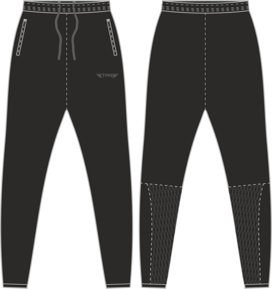 D2F. Mickleover FC Casual Fit Tech Trouser - Adult