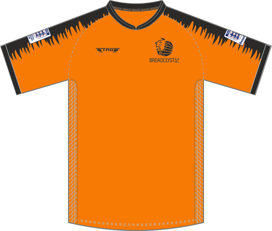C2C. Broadclyst FC Home Match Jersey S/S - Child