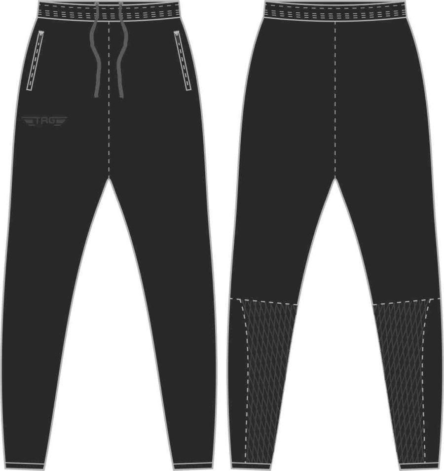 D2D. Broadclyst FC Tight Fit Tech Trouser - Adult