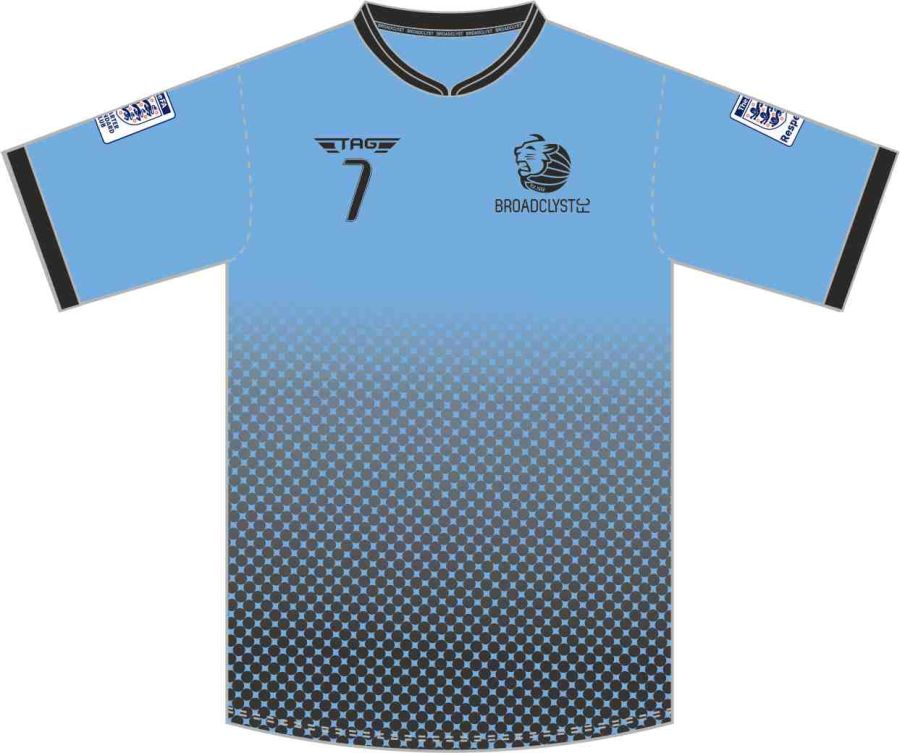 D3F. Broadclyst FC Training Jersey - Adult