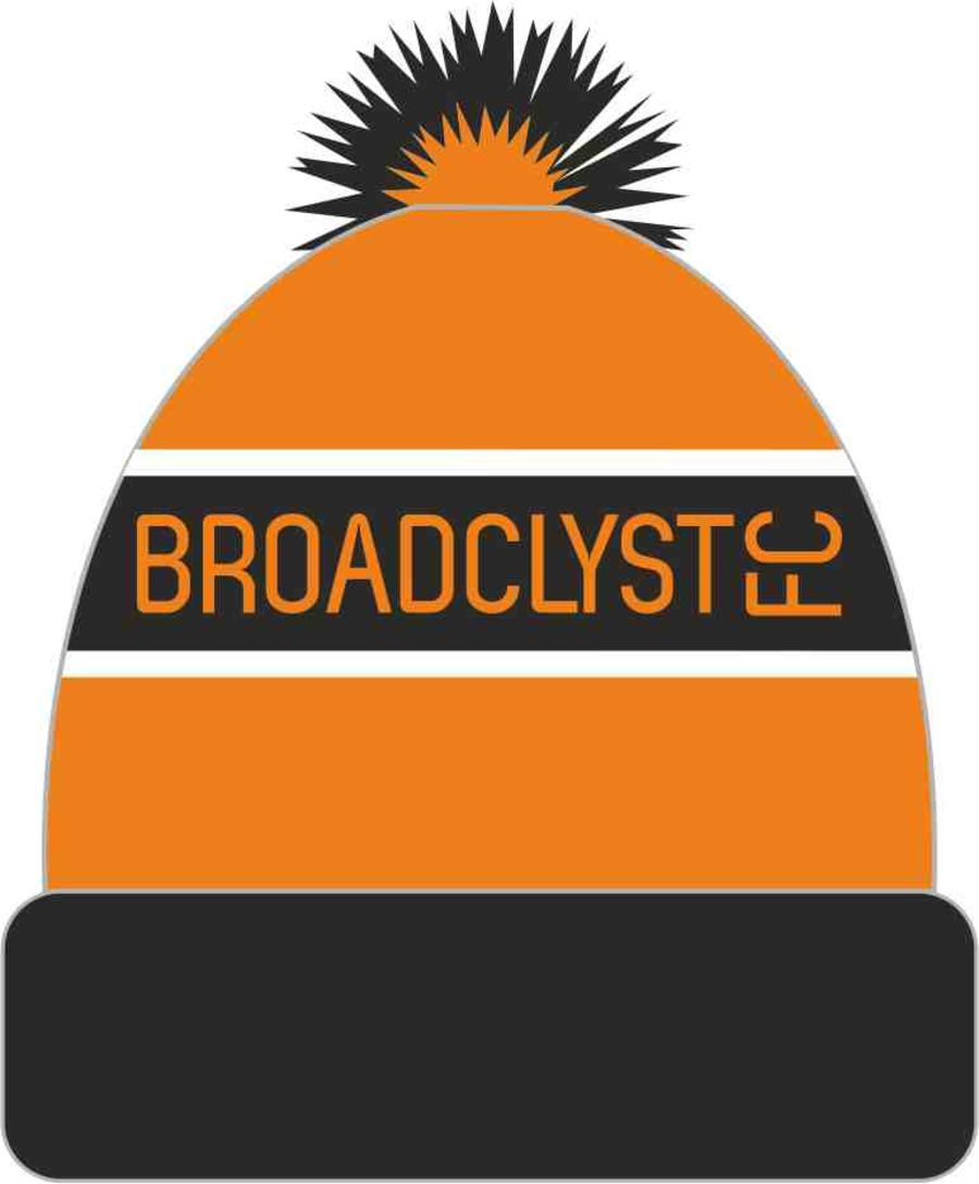 F2G. Broadclyst FC Knitted Hat (min order 50)