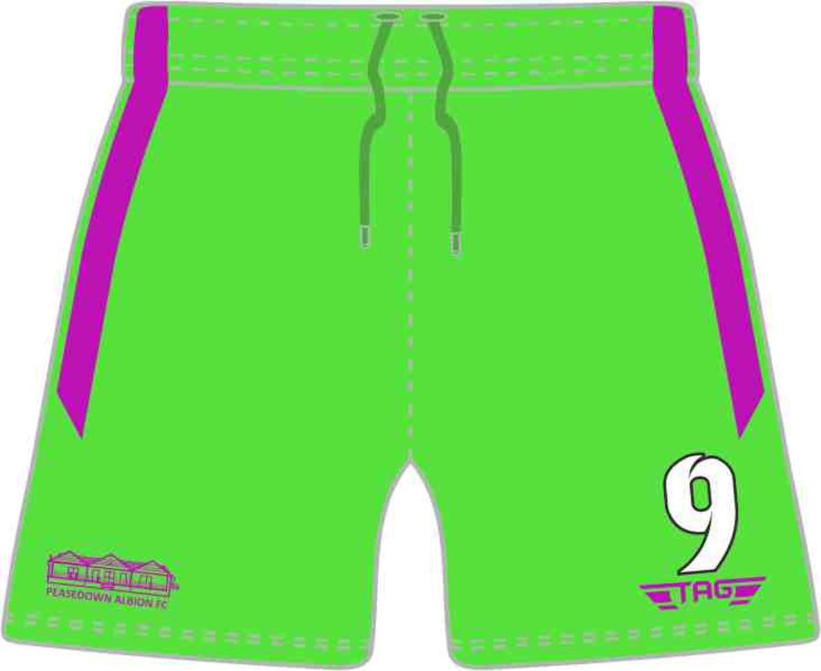 C4P. Peasedown Albion Green GK Short - Adult
