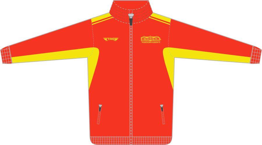 D6C. Peasedown Albion Tech Jacket - Child