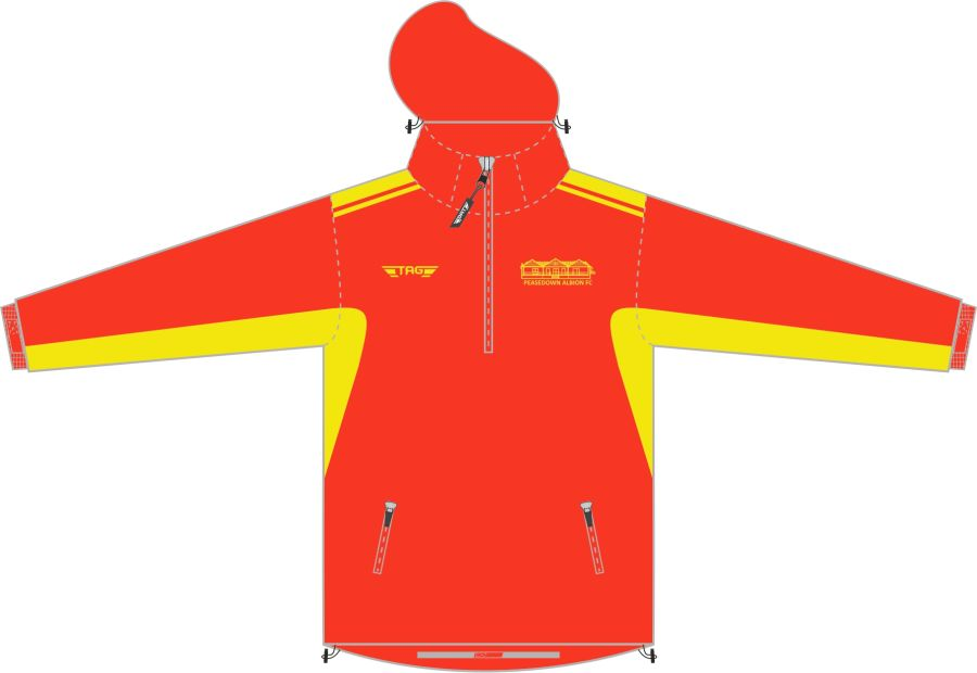 D4F. Peasedown Albion Fleece Lined Rain Jacket - Adult