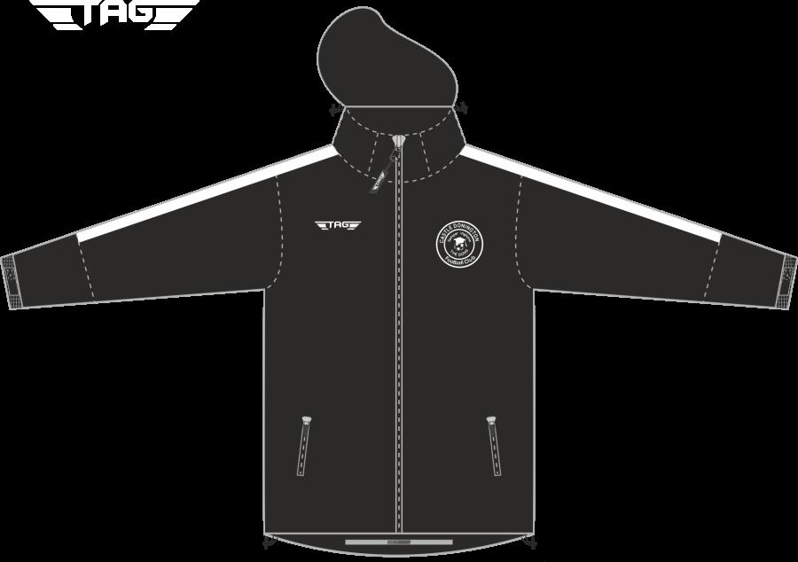 D4D. Castle Donington Rain Jacket - Adult