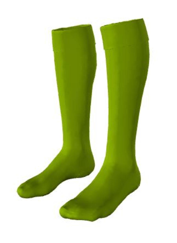 C4W. Castle Donington Bright Green GK Sock - Child
