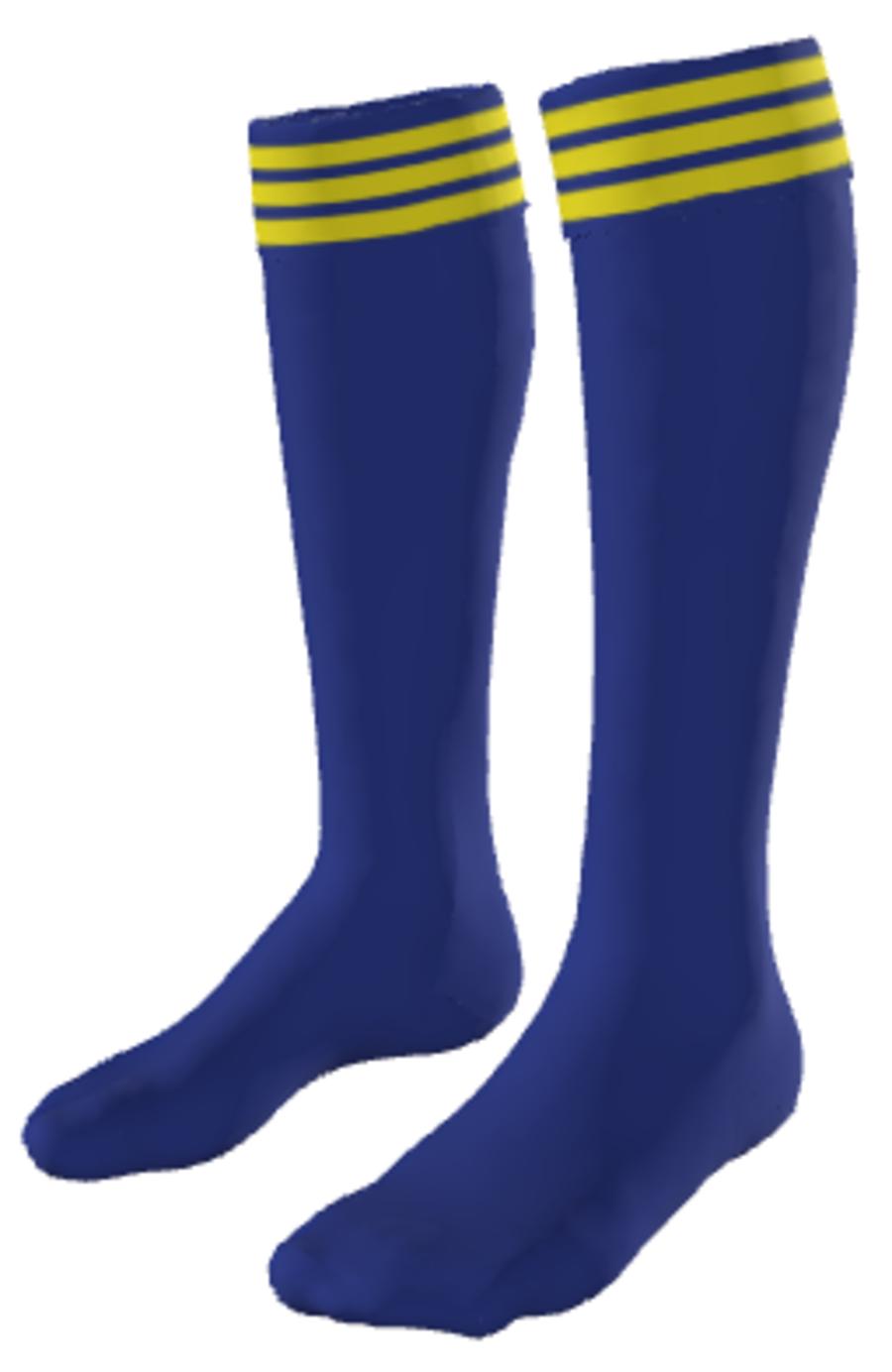 C2J. Willington FC Home Sock - Adult