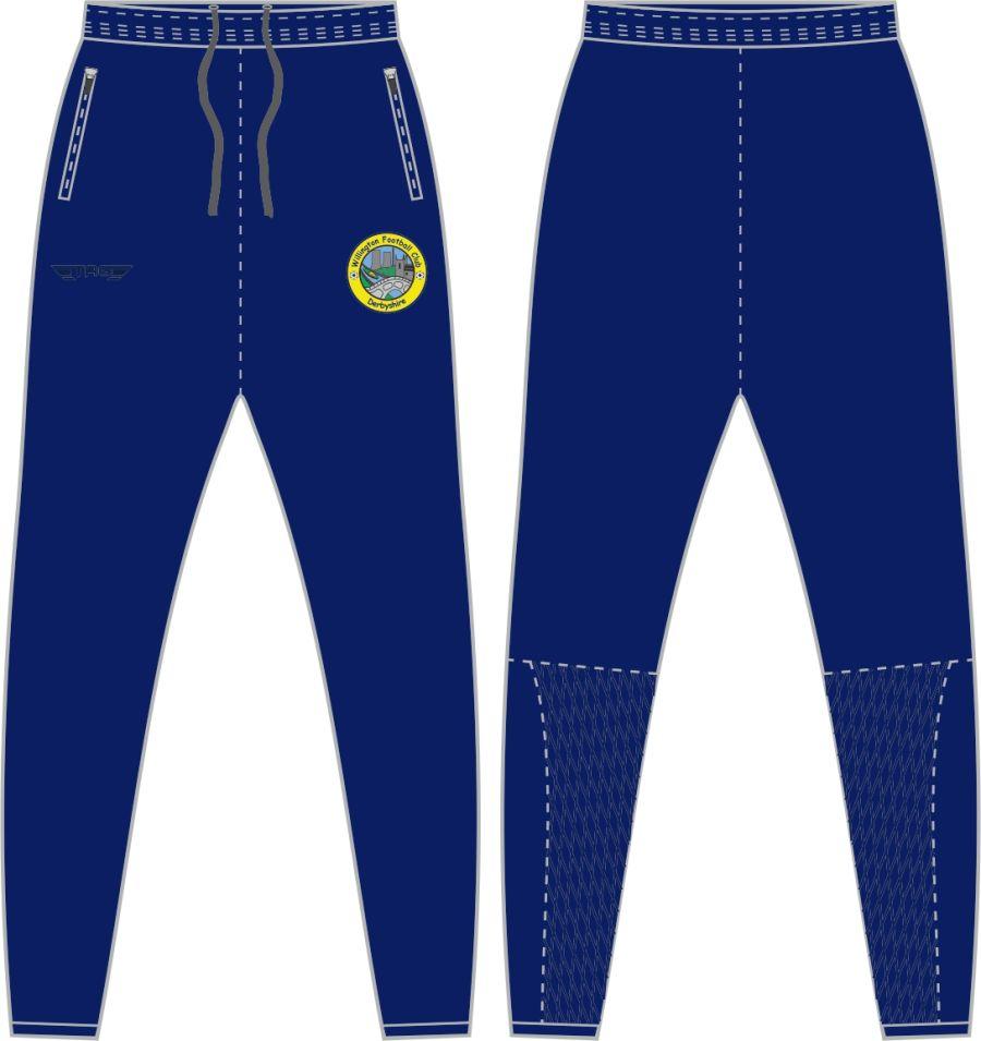 A1D. Willington FC Tight Fit Tech Trouser - Adult