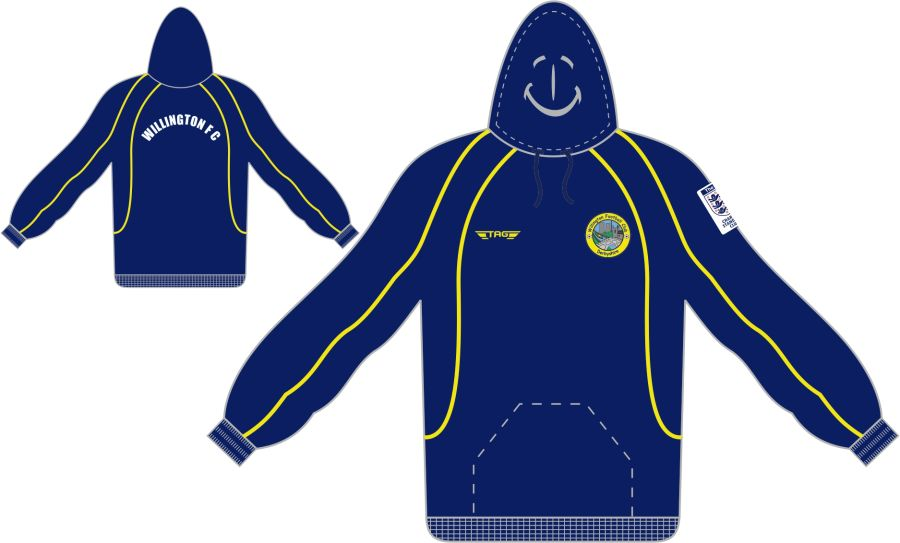 D7C. Willington FC Sports Hoody - Child