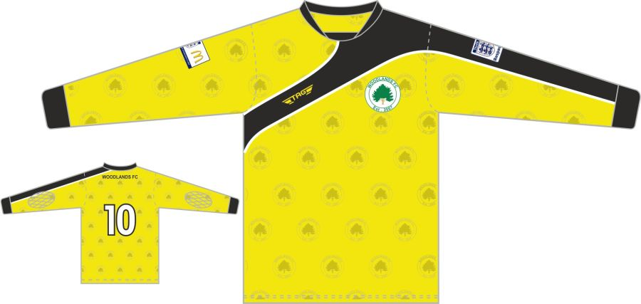 C4D. Woodlands Yellow GK Jersey - Adult
