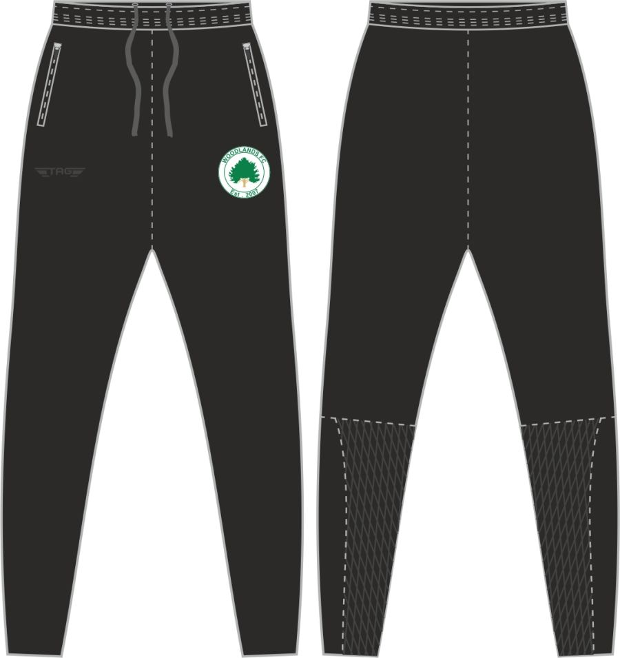D2D. Woodlands Tight Fit Tech Trouser - Adult