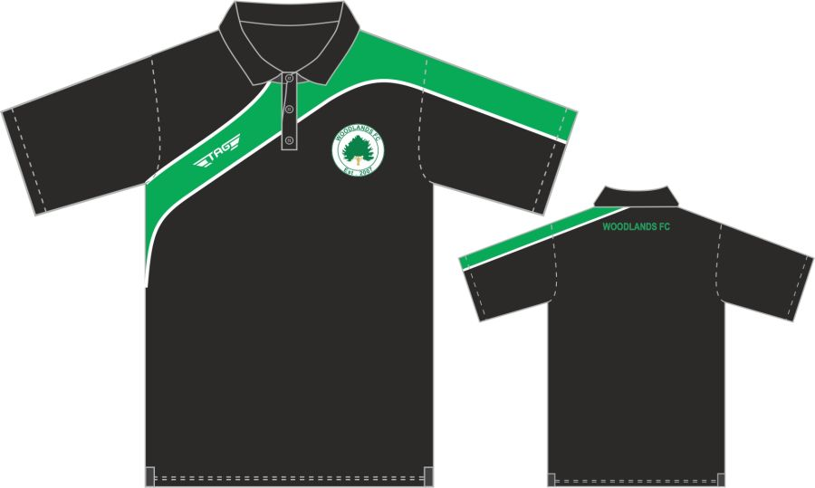 D8D. Woodlands Sports Polo - Adult