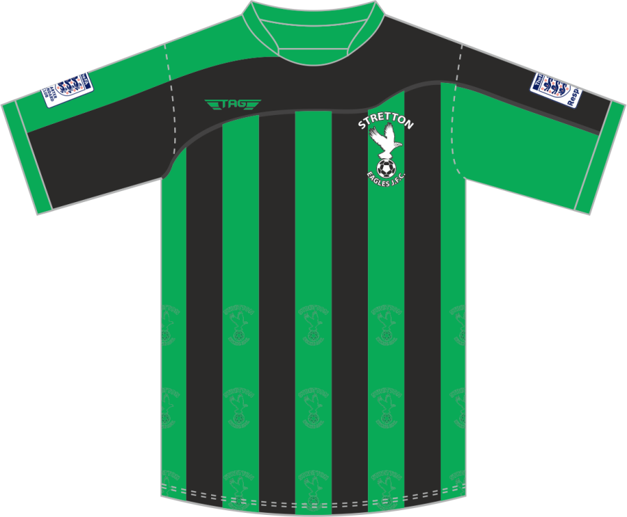 C2D. Stretton Eagles S/S Home Jersey - Adult