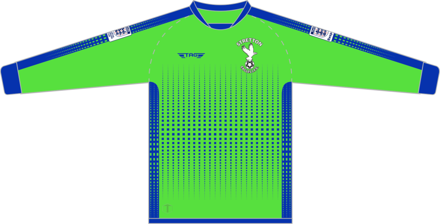 C4F. Stretton Eagles Away GK Jersey - Adult