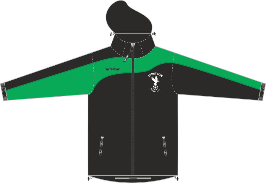 D4D. Stretton Eagles Rain Jacket - Adult