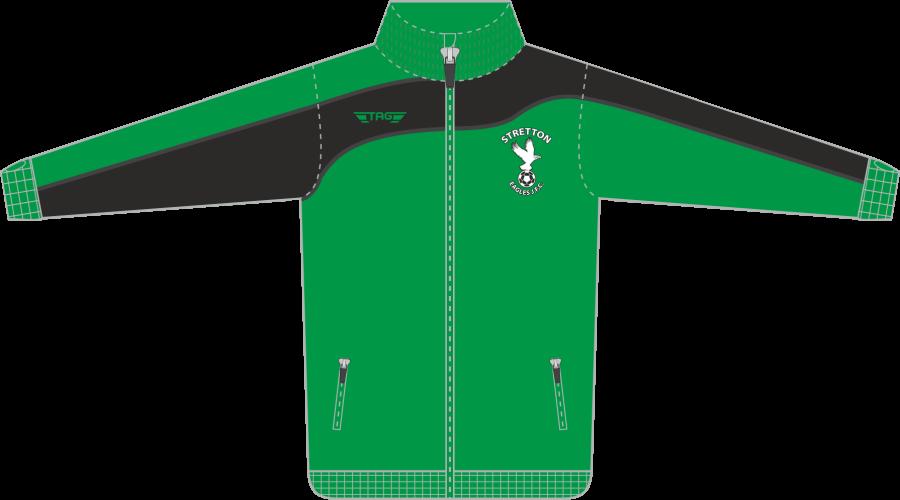 D6D. Stretton Eagles Tech Jacket - Adult