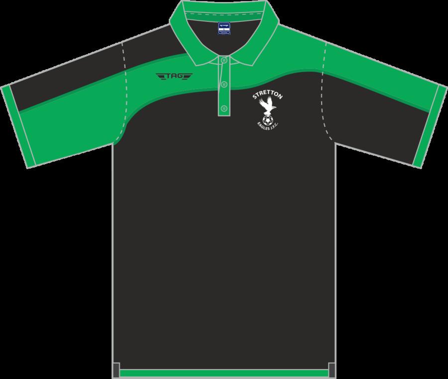 D8D. Stretton Eagles Sports Polo - Adult