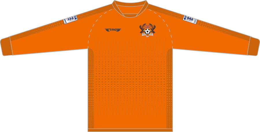 C4H. Halas Hawks Orange GK Jersey - Adult