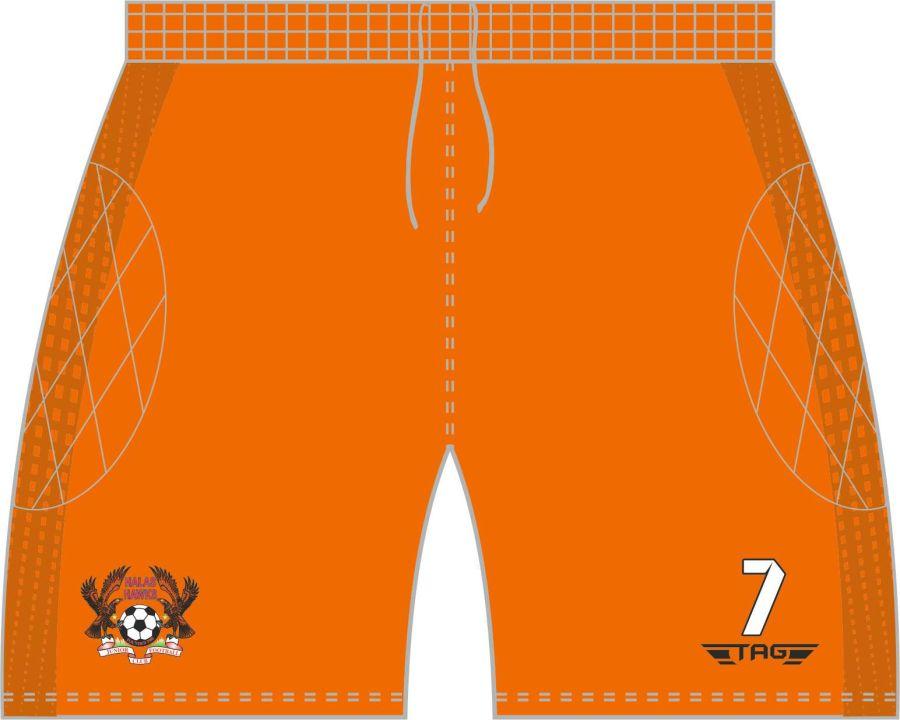 C4M. Halas Hawks Orange GK Short - Child