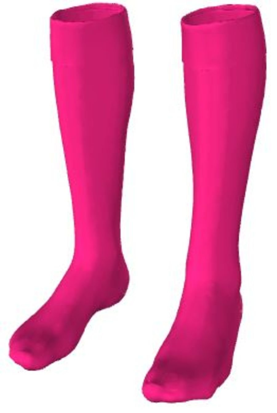 C4Q. Halas Hawks Pink GK Sock - Child