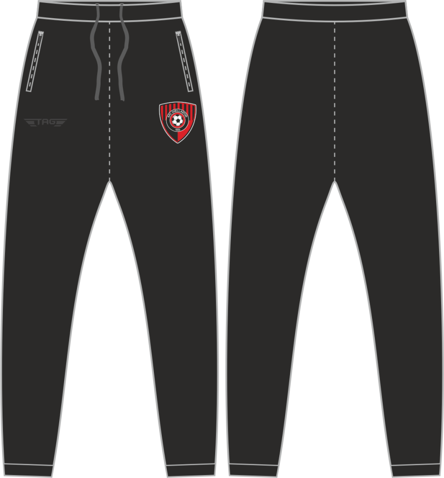 D2F. AFC Chellaston Casual Fit Tech Trouser - Adult