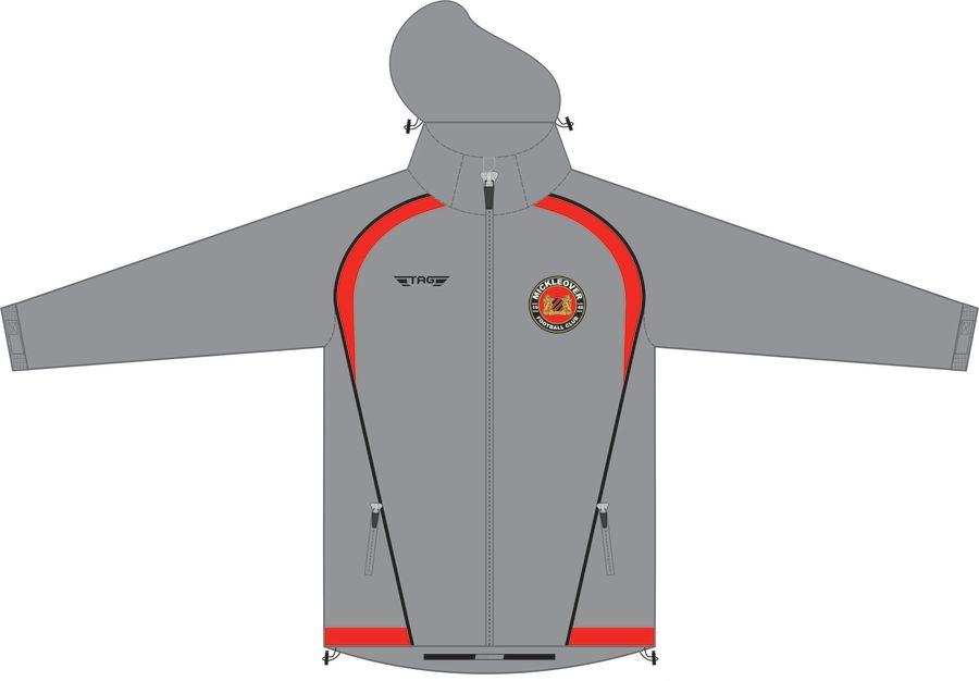 D4C. Mickleover FC Rain Jacket - Child