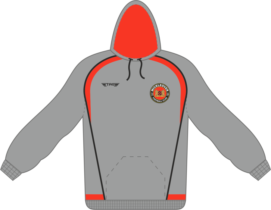 D7C. Mickleover FC Sports Hoody - Child