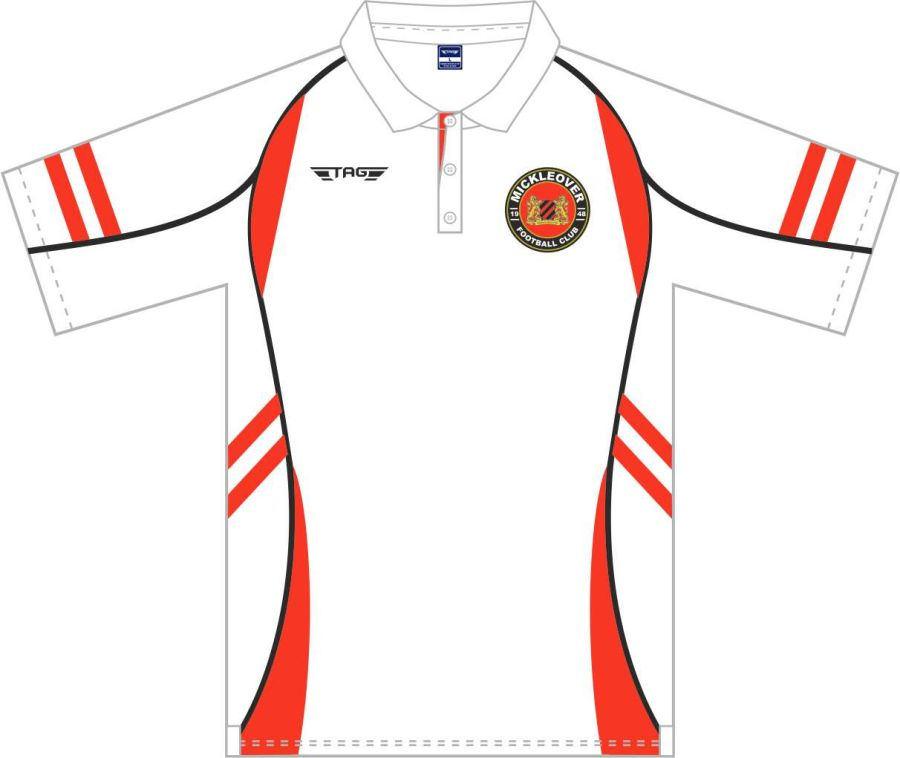 D8D. Mickleover FC Sports Polo - Adult